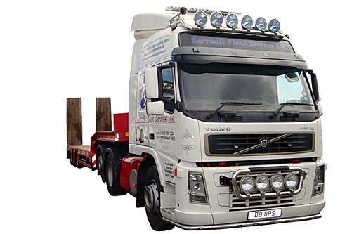 Low Loader Hire in Ayrshire