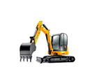 Midi Excavator Hire in Ayrshire